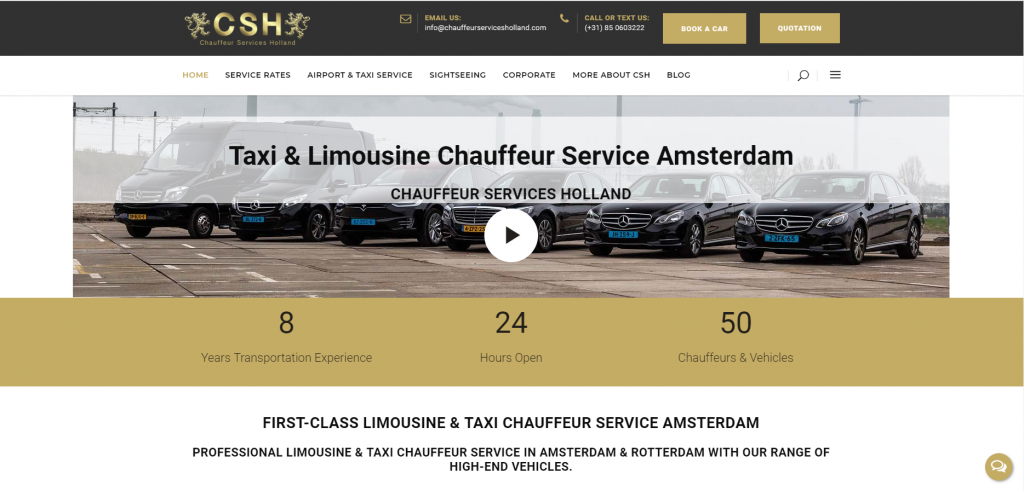chauffeurservicesholland by econcepts europe