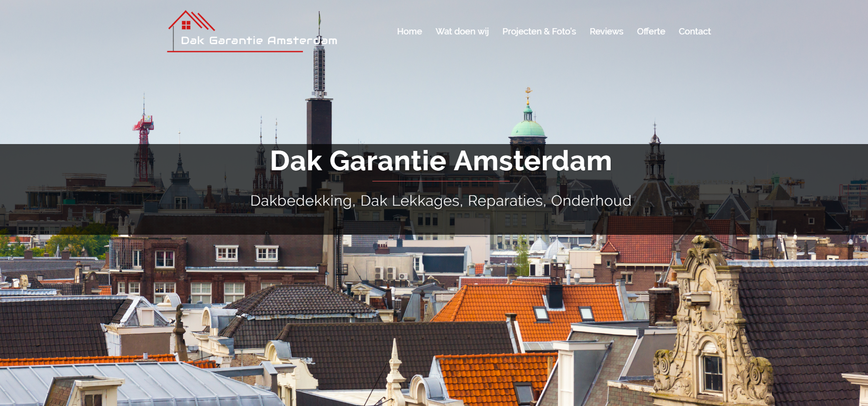 Dak Garantie Amsterdam by eConcepts Europe