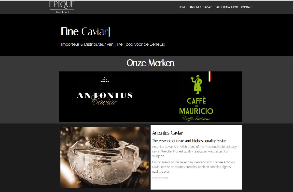 Epique Fine Food by eConcepts Europe