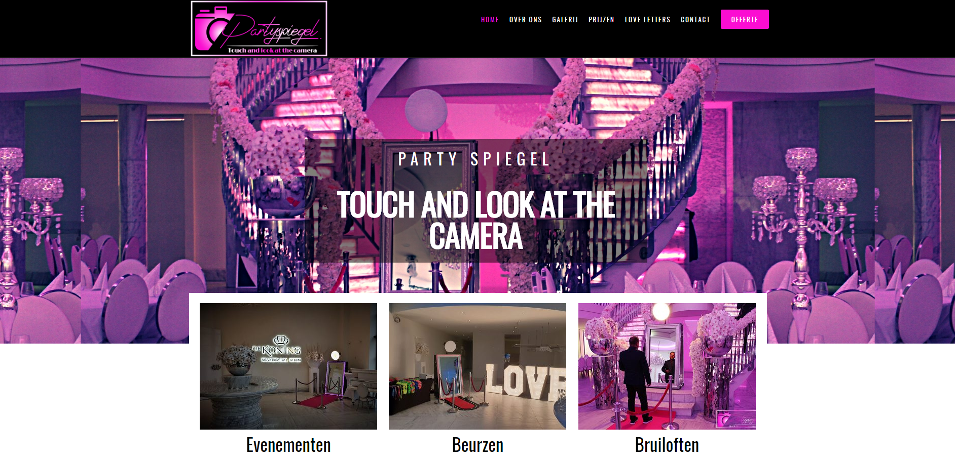 Party Spiegel by eConcepts europe