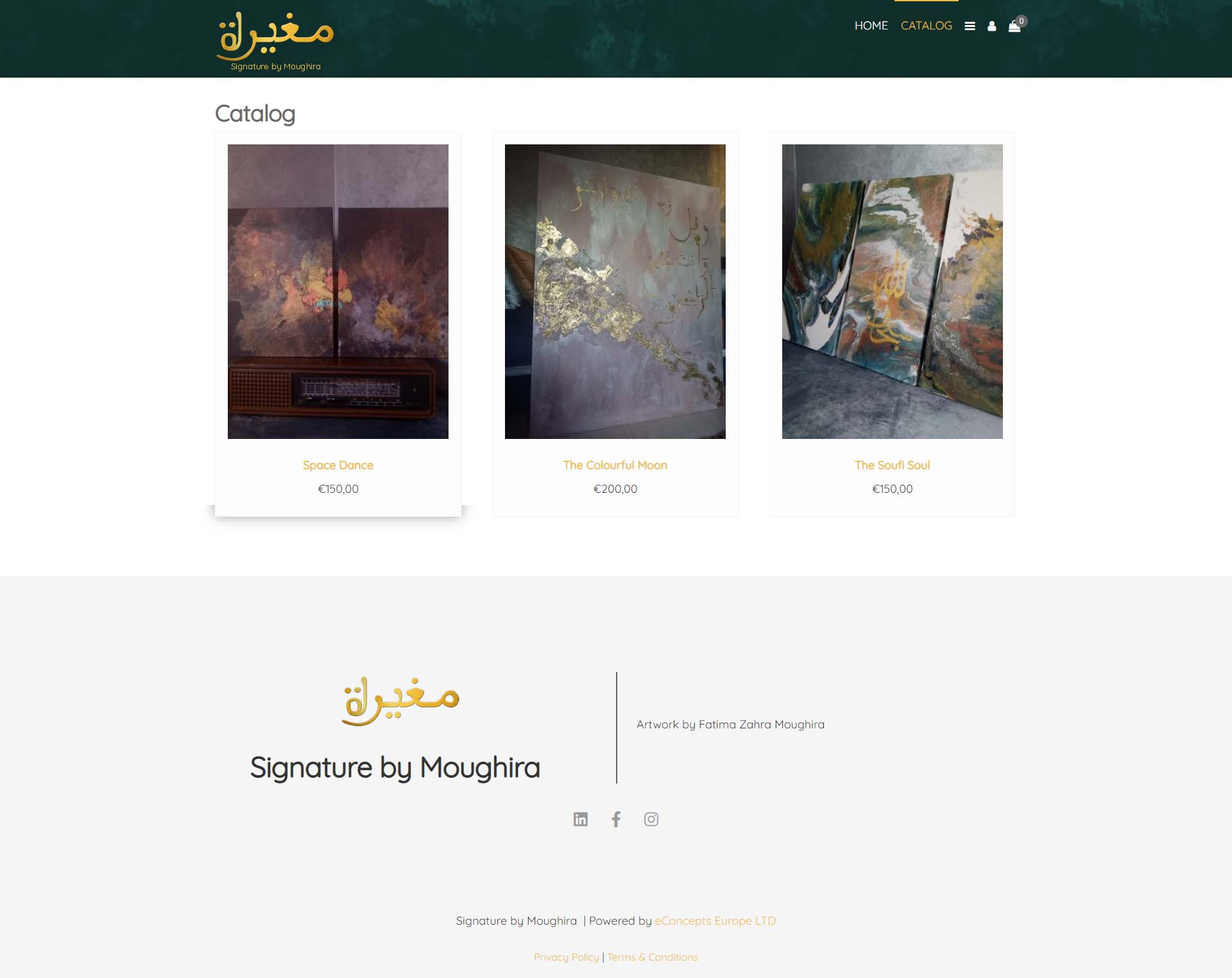 art webshop Signature by Moughira 02
