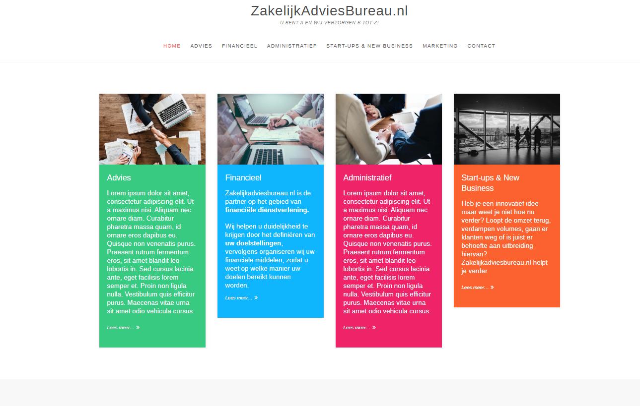 Zakelijk Advies Bureau by eConcepts Europe
